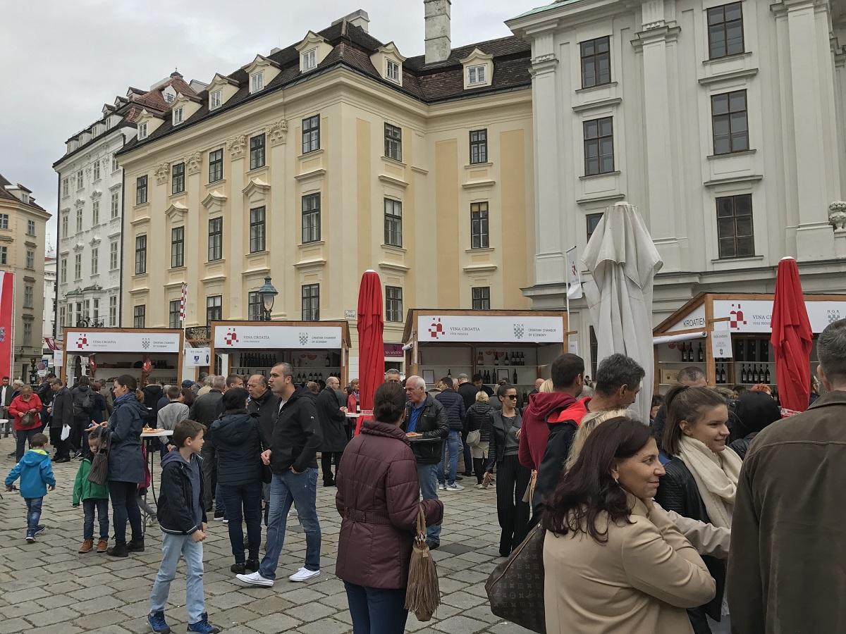 Croatian wine in Munich