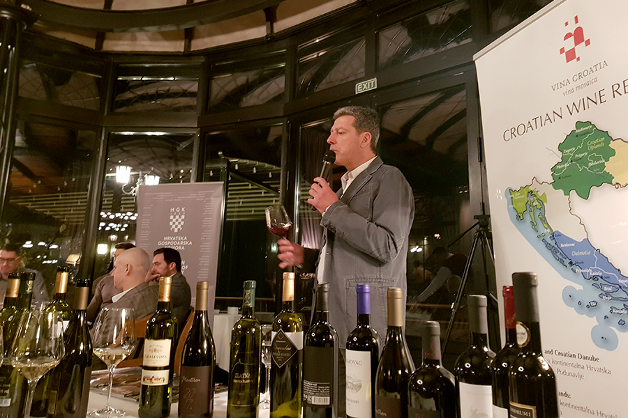 Aleksandar Duković u Beogradu predstavio hrvatska vina
